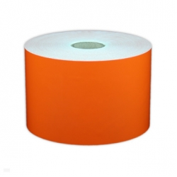 "Cascade Labeling™ All Purpose Industrial Label Tape, Orange, 3.00"" x 150'"