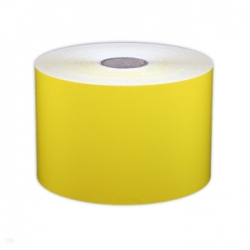 "Cascade Labeling™ All Purpose Industrial Label Tape, Yellow, 3.00"" x 150'"