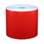 "Cascade Labeling™ All Purpose Industrial Label Tape, Red, 4.00"" x 150'"